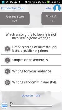 Learn English Writing apk screenshot