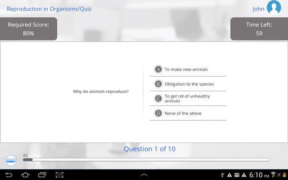 Grade 12 Biology apk screenshot
