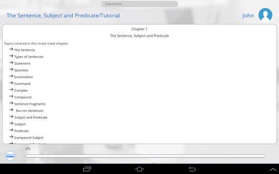 Grade 5 English apk screenshot