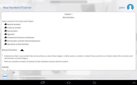 Grade 10 Math by GoLearningBus apk screenshot