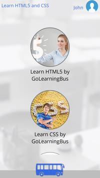 Learn HTML5 and CSS apk screenshot