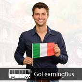 Learn Italian via Videos icon