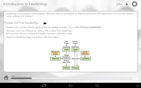 Leadership 101 apk screenshot