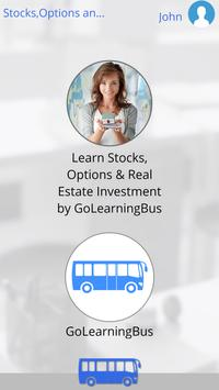 Stocks,Options and Real Estate apk screenshot