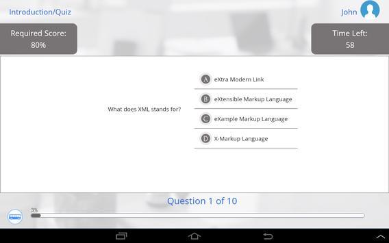 Learn XML by GoLearningBus apk screenshot
