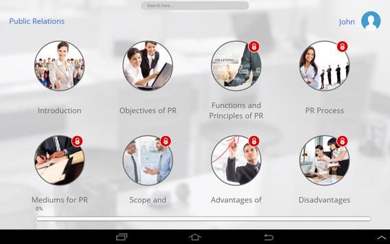 Learn Public Relations apk screenshot