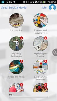 Visual Survival Guide apk screenshot
