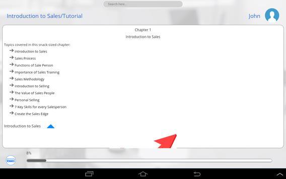 Learn Sales and Marketing apk screenshot