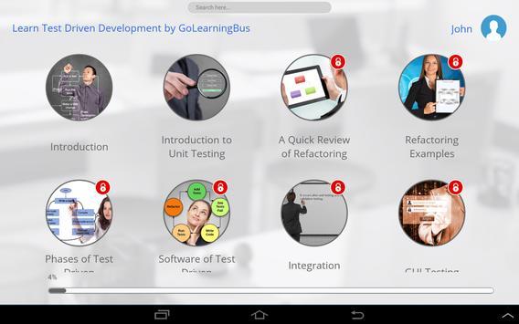 Learn Test Driven Development apk screenshot