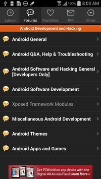 XDA for Android 2.3 apk screenshot