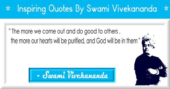 ❂ Swami Vivekananda Quotes poster