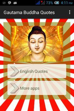 Gautama Buddha Quotes apk screenshot