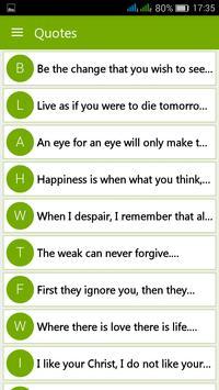 Mahatma Gandhi Quotes poster