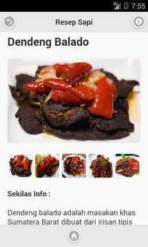 Resep Masakan Sapi apk screenshot