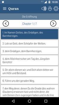 German Quran apk screenshot