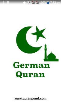 German Quran poster