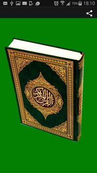 French Quran poster