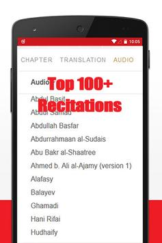 Quran mp3 Hausa translation apk screenshot