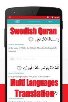 Al Quran Swahili Translation apk screenshot