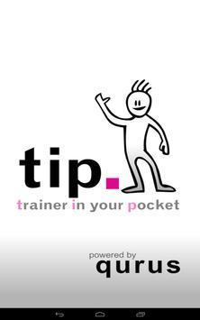 TIP - Trainer In your Pocket poster