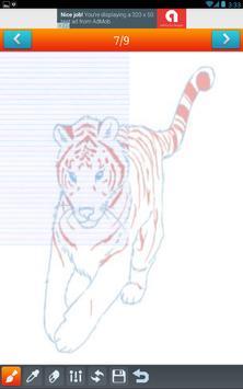 How to draw safari animals Pro apk screenshot
