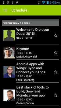 droidcon Dubai poster