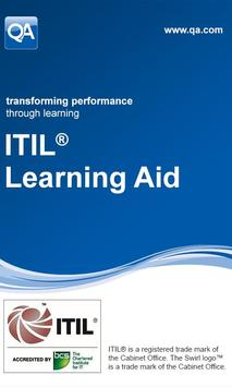 QA ITIL Learning Aid poster