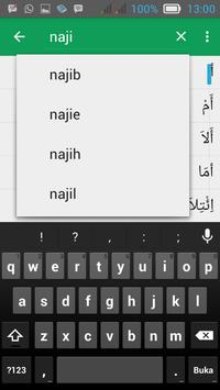 Qamus - Kamus Arab Indonesia apk screenshot