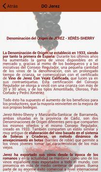 Vinos Jerez apk screenshot