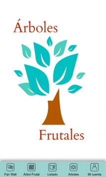 Arboles Frutales poster