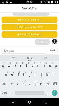 QbeChat apk screenshot