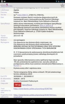 Przetargi GBP apk screenshot
