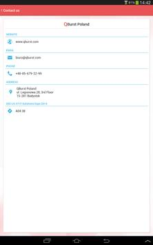QBeacon IT Solutions Expo 2014 apk screenshot