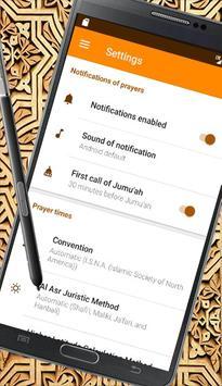 Prayer Now:أوقات الصلاةوالأذان apk screenshot