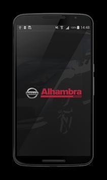 Alhambra Nissan poster