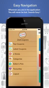 ZeeCoupons apk screenshot
