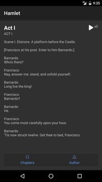 Hamlet by William Shakespeare apk screenshot