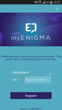 myENIGMA Secure Messaging apk screenshot