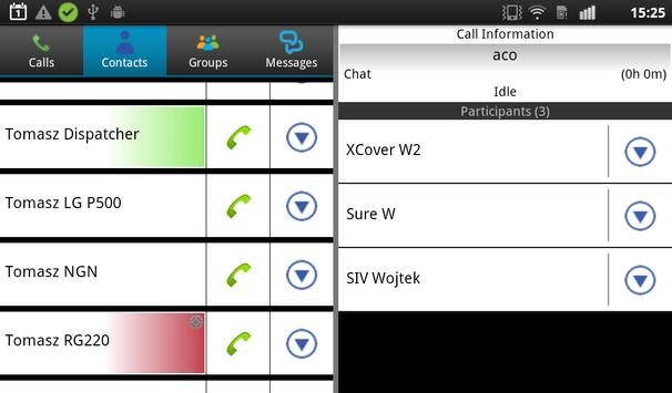 Qool Talk - Push to Talk apk screenshot