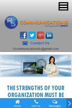 R5 Communications apk screenshot
