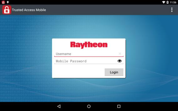 Trusted Access Mobile apk screenshot
