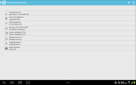 SmartCircle Remote DS apk screenshot