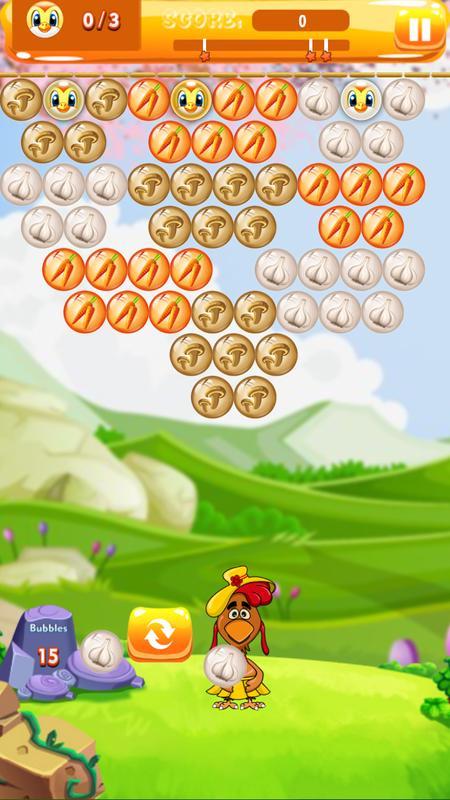 bubble trouble level 18