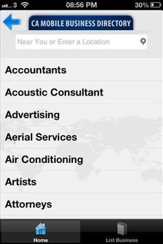 CA Mobile Business Directory apk screenshot