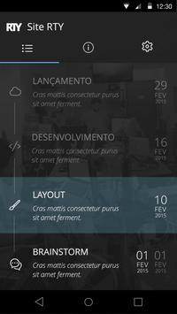 RTY Project Tracker apk screenshot