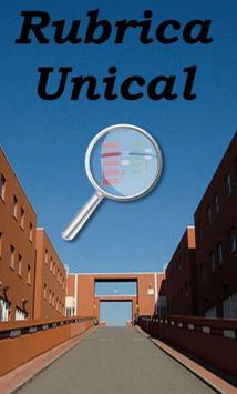 Rubrica Unical poster