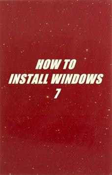 Tutorial Install Windows 7 poster