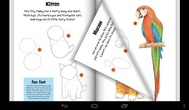Learn To Draw Pets apk screenshot