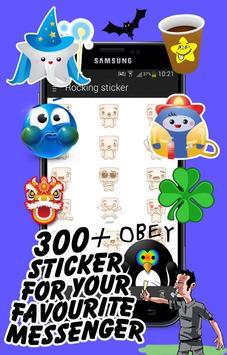 Rocking Stickers apk screenshot