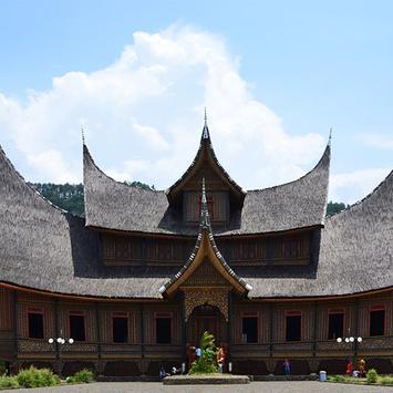 34 Rumah Adat Nusantara poster